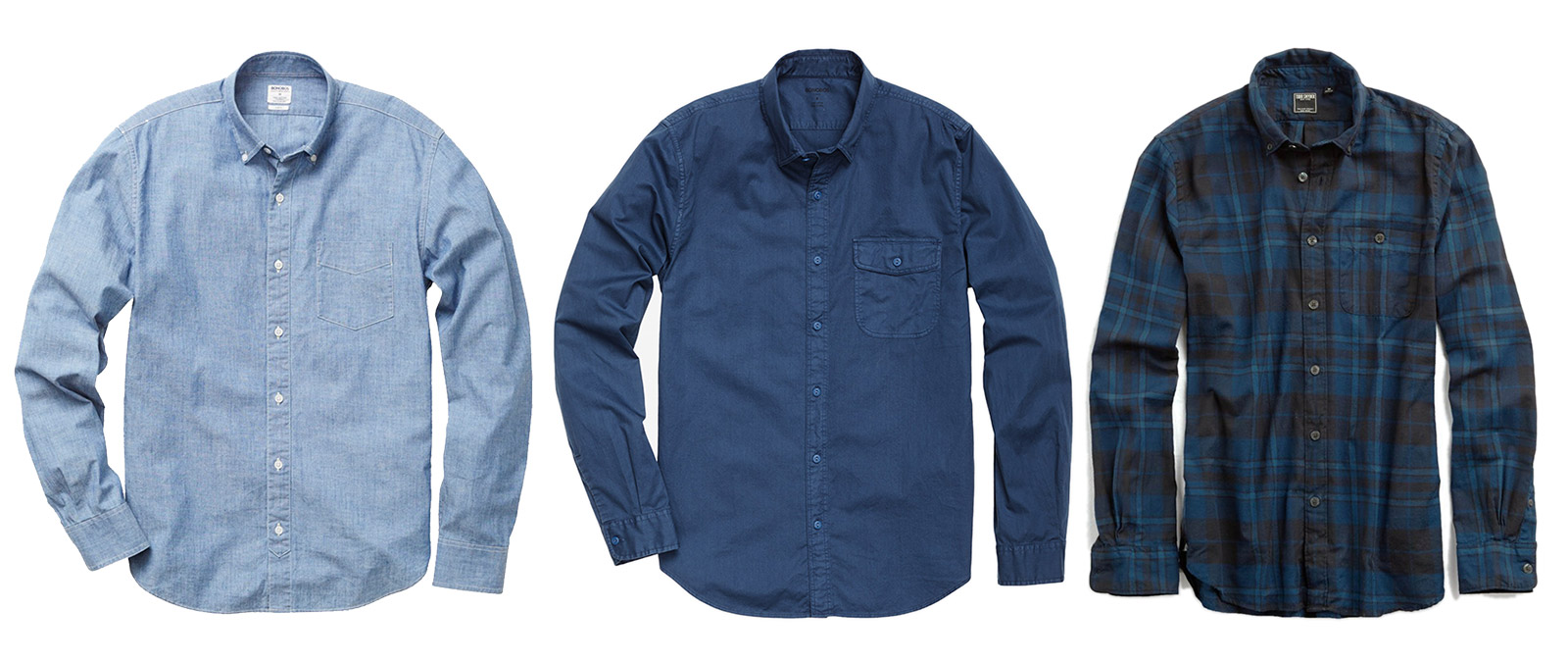 fall winter shirt options