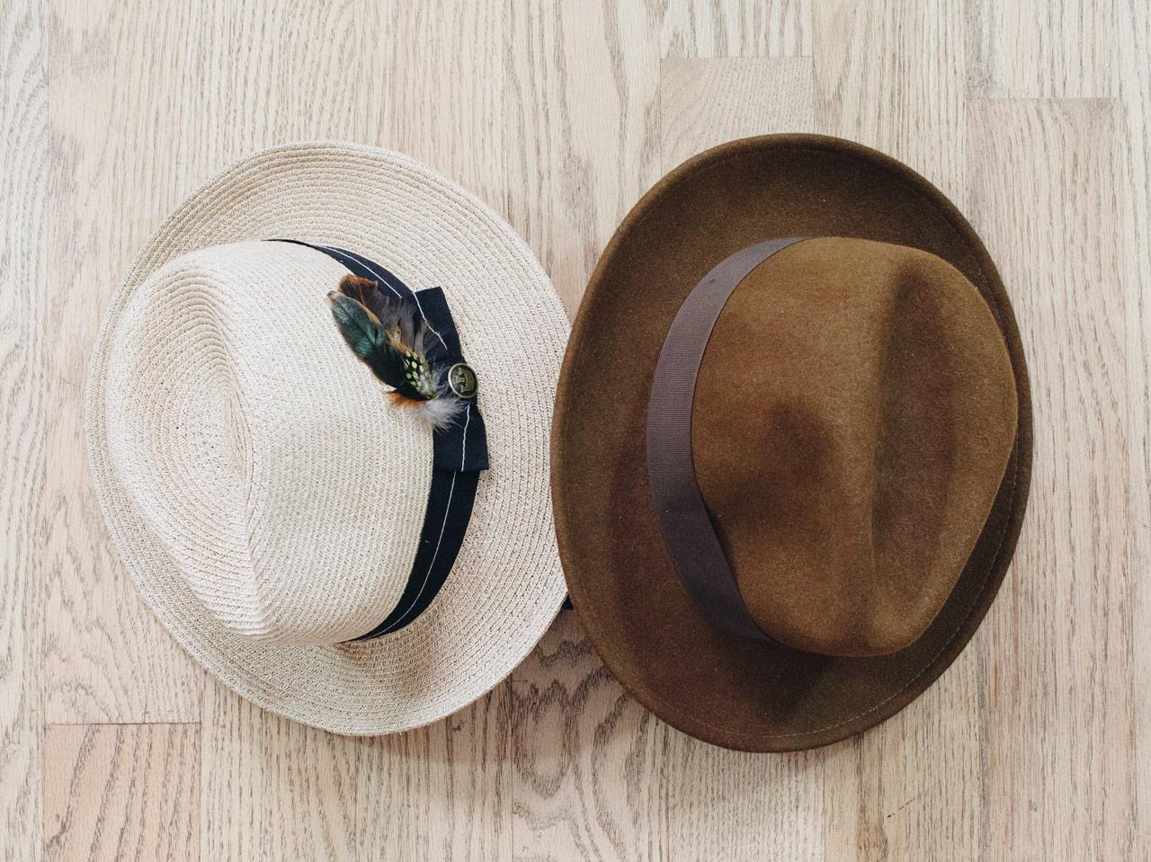 effortless essentials minimalist wardrobe - accessories_hats