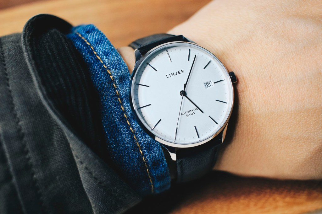 linjer automatic watch - 5 Things Every Guy Needs to Know About Watches