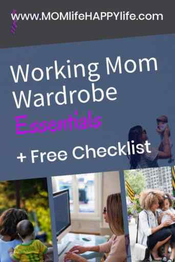 Working Mom Wardrobe Essentials