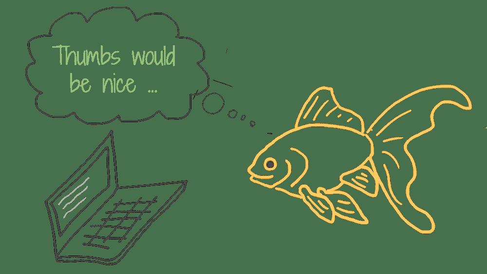 P3 - Thumbs Goldfish
