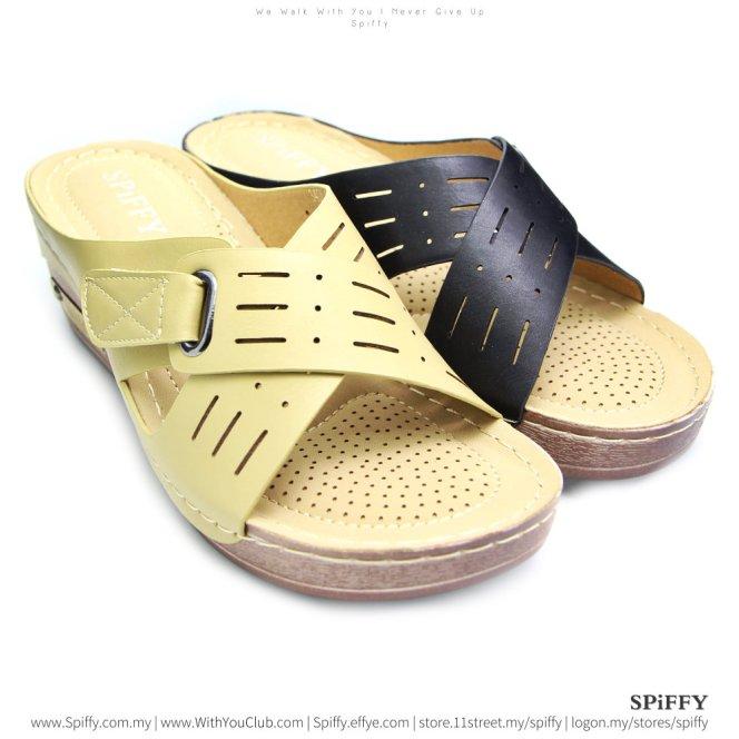 fashion-modern-malaysia-kuala-lumpur-shoes-sandals-%e4%bc%91%e9%97%b2%e9%9e%8b-spiffy-brand-ct3408-mix-colour-shoe-ladies-lady-leather-high-heels-shoes-comfort-wedges-sandal-%e5%a8%83%e5%a8%83