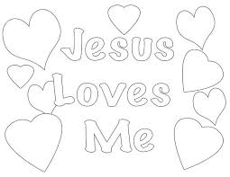 Jesus Christ Coloring Images Sunday School Images for You to Fill with Colour A21