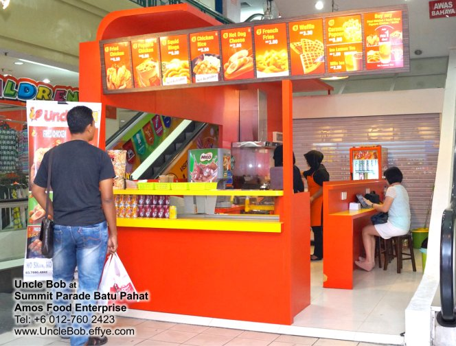 Popcorn Chicken Uncle Bob Fried Chicken Waffle Fast Food Batu Pahat Johor Malaysia Amos Food Enterprise Food and Beverages The Summit Parade Batu Pahat A06