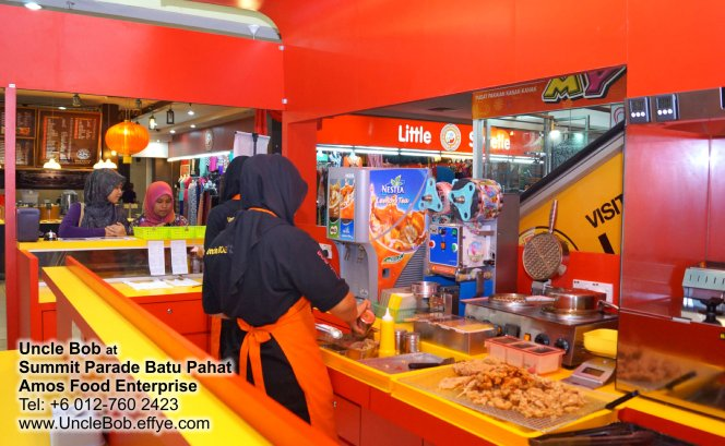 Popcorn Chicken Uncle Bob Fried Chicken Waffle Fast Food Batu Pahat Johor Malaysia Amos Food Enterprise Food and Beverages The Summit Parade Batu Pahat A11