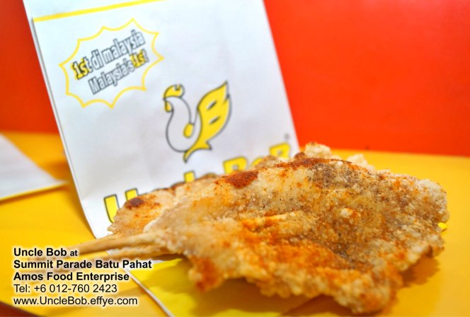 Popcorn Chicken Uncle Bob Fried Chicken Waffle Fast Food Batu Pahat Johor Malaysia Amos Food Enterprise Food and Beverages The Summit Parade Batu Pahat A12