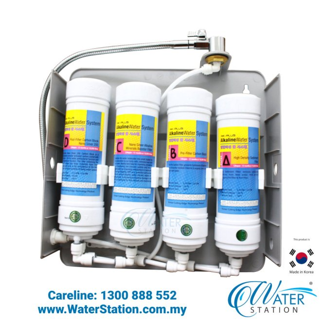 Water Filter H3330 Alkaline Water System made in KOREA Indoor Water Purifier Water Station Malaysia