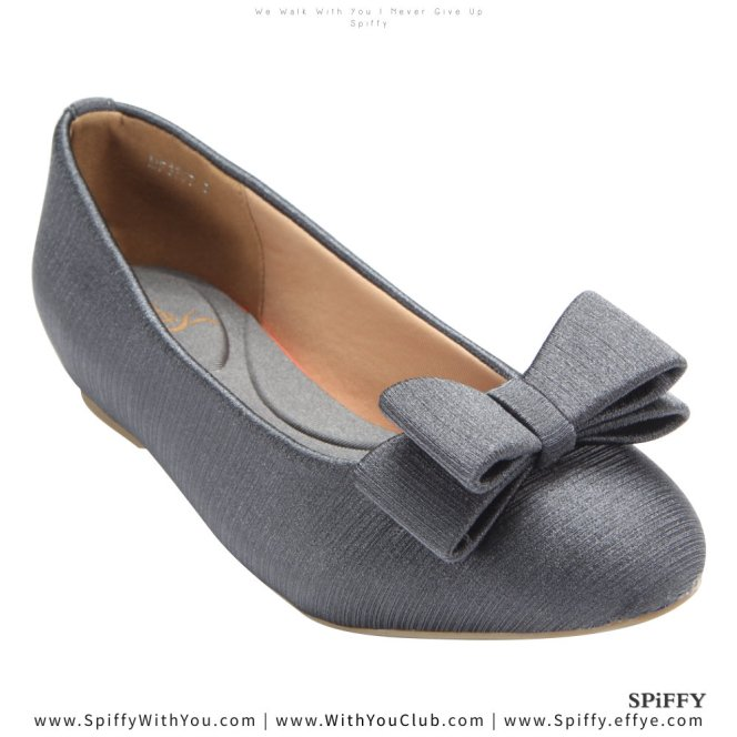 Fashion Modern Malaysia Sneakers Shoes 舒适平底鞋 Spiffy Brand MF3757011 Grey Colour Shoe Ladies Lady Leather High Heels Wedges Shoes Online Shopping 11Street Lazada 02