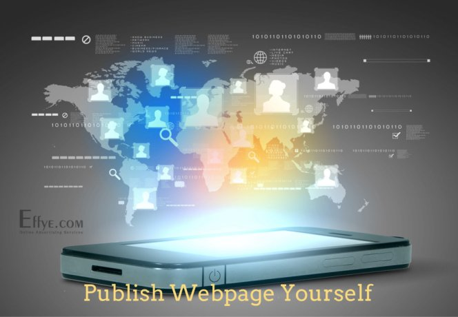 Publish Advertising and Your Products and Services Yourself at Effye Website Be your own web designer A01