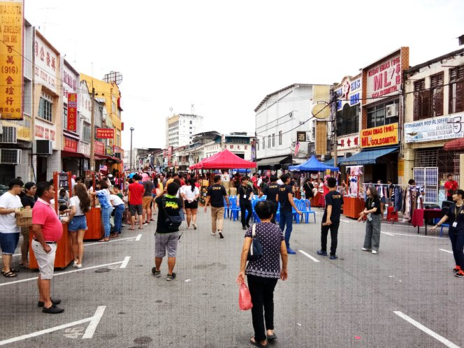 Batu Pahat Culture Street Night Market History Building Event Activity 峇株巴辖文化老街 市集 老街 历史 文化建筑 Johor Malaysia 柔佛 马来西亚 A03