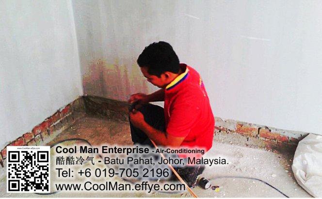 Malaysia Johor Batu Pahat AirCon Cool Man Enterprise Air Conditioning Refrigeration Installation Repair Cleaning 马来西亚 柔佛 峇株吧辖 冷气系统安装 买卖 维修 保养
