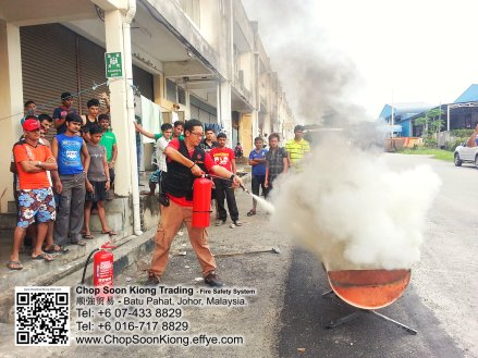 Malaysia Johor Batu Pahat Fire Extinguisher Prevention Equipment Chop Soon Kiong Trading 顺強贸易 Safety Somke Alarm Fire Prevention Protection Fire Hose Reel Bomba 灭火器 C02
