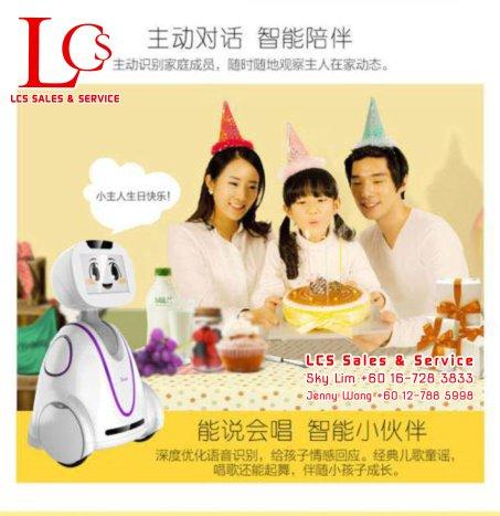 Batu Pahat Family Robot Friends Alarm System Johor Malaysia 峇株巴辖小喧一号机器人 智能家庭专属玩伴 视频监控 语音对话 柔佛 马来西亚 A05-04