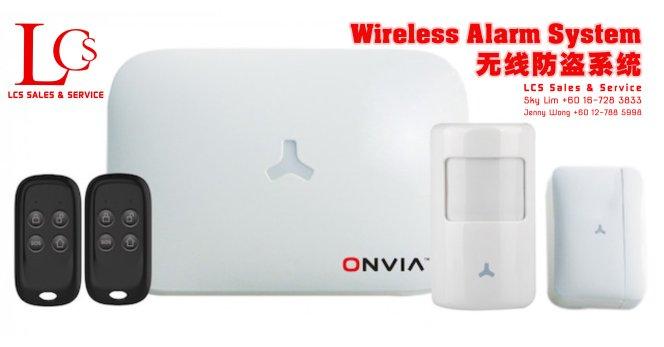Batu Pahat Onvia CCTV Wireless Alarm System Wiring Works Johor Malaysia 峇株巴辖闭路电视保安系统 无线防盗系统安装 警报系统安装 电气工程 办 A04-00-2