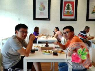 Malaysia Johor Batu Pahat Vegetarian Food Restaurant and Cafe Delicious Food and Beverages 马来西亚 柔佛 峇株巴辖 素食餐厅 和 咖啡厅 美食 我肚子饿了 B08