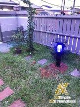 pembunuh nyamuk berkuasa solar untuk luar dan dalam rumah pemasangan percuma alat bunuh nyamuk elektrik 16