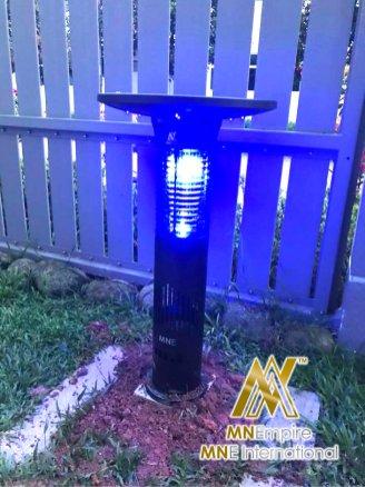 pembunuh nyamuk berkuasa solar untuk luar dan dalam rumah pemasangan percuma alat bunuh nyamuk elektrik 31