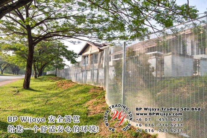 BP Wijaya Trading Sdn Bhd 马来西亚 雪兰莪 吉隆坡 安全 篱笆 制造商 提供 篱笆 建筑材料 给 发展商 花园 公寓 住家 工厂 果园 社会 安全藩篱 建设 A01-04