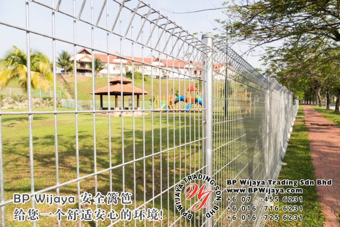 BP Wijaya Trading Sdn Bhd 马来西亚 雪兰莪 吉隆坡 安全 篱笆 制造商 提供 篱笆 建筑材料 给 发展商 花园 公寓 住家 工厂 果园 社会 安全藩篱 建设 A01-05