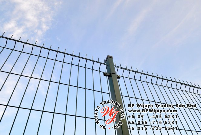 BP Wijaya Trading Sdn Bhd Malaysia Selangor Kuala Lumpur manufacturer of safety fences building materials for housing construction site Security fencing factory security home security A01-03