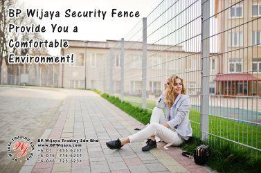 BP Wijaya Trading Sdn Bhd Malaysia Selangor Kuala Lumpur Manufacturer of Safety Fences Building Materials for Housing Construction Site Security Fencing Factory Security Home Security C01-77