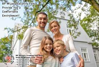 BP Wijaya Trading Sdn Bhd Malaysia Selangor Kuala Lumpur Manufacturer of Safety Fences Building Materials for Housing Construction Site Security Fencing Factory Security Home Security C01-19