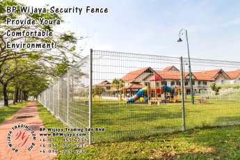 BP Wijaya Trading Sdn Bhd Malaysia Selangor Kuala Lumpur Manufacturer of Safety Fences Building Materials for Housing Construction Site Security Fencing Factory Security Home Security C01-25