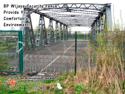 BP Wijaya Trading Sdn Bhd Malaysia Selangor Kuala Lumpur Manufacturer of Safety Fences Building Materials for Housing Construction Site Security Fencing Factory Security Home Security C01-63