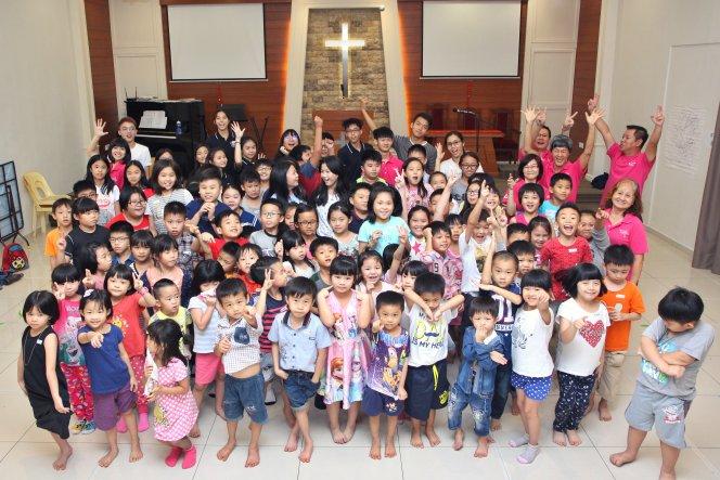 苏雅喜乐堂 主日学儿童生活营 Gereja Joy Soga Sunday School Camp A08