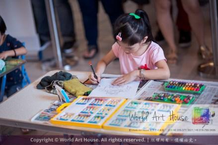 马来西亚 哥打白沙罗 八打灵再也 吉隆坡 雪兰莪 金犬报喜迎旺年 创意填色比赛 World Art House 世界艺术画室 及 1 Utama Shopping 金爺爺 JinYeYe Effye Media A032