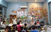 马来西亚 柔佛 峇株吧辖 美术课程 艺术画室 儿童绘画 彩图 水彩画 木笔画 蜡笔画 素描 油画 广告画 壁画 板画 布画 漫画 Kiong Art 艺术之家美术画室 A01-08