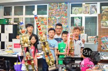 马来西亚 柔佛 峇株吧辖 美术课程 艺术画室 儿童绘画 彩图 水彩画 木笔画 蜡笔画 素描 油画 广告画 壁画 板画 布画 漫画 Kiong Art 艺术之家美术画室 A01-06