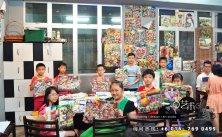 马来西亚 柔佛 峇株吧辖 美术课程 艺术画室 儿童绘画 彩图 水彩画 木笔画 蜡笔画 素描 油画 广告画 壁画 板画 布画 漫画 Kiong Art 艺术之家美术画室 A01-07