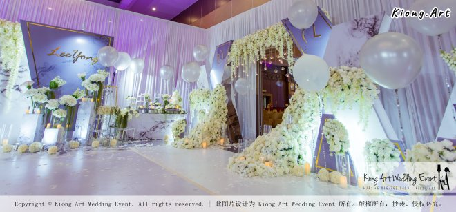 Kiong Art Wedding Event Kuala Lumpur Malaysia Event and Wedding Decoration Company One-stop Wedding Planning Services Wedding Theme Live Band Wedding Photography Videography A03-55