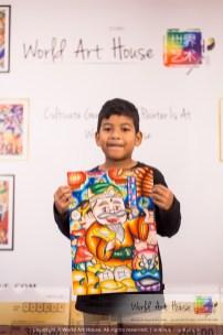 Malaysia Kota Damansara Petaling Jaya Kuala Lumpur Selangor Chinese New Year Charity Coloring Contest World Art House 世界艺术画室 and 1 Utama Shopping JinYeYe Effye Media B008