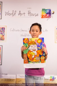 Malaysia Kota Damansara Petaling Jaya Kuala Lumpur Selangor Chinese New Year Charity Coloring Contest World Art House 世界艺术画室 and 1 Utama Shopping JinYeYe Effye Media B009
