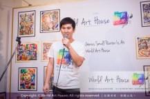 Malaysia Kota Damansara Petaling Jaya Kuala Lumpur Selangor Chinese New Year Charity Coloring Contest World Art House 世界艺术画室 and 1 Utama Shopping JinYeYe Effye Media B025