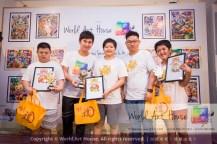 Malaysia Kota Damansara Petaling Jaya Kuala Lumpur Selangor Chinese New Year Charity Coloring Contest World Art House 世界艺术画室 and 1 Utama Shopping JinYeYe Effye Media B034