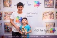 Malaysia Kota Damansara Petaling Jaya Kuala Lumpur Selangor Chinese New Year Charity Coloring Contest World Art House 世界艺术画室 and 1 Utama Shopping JinYeYe Effye Media B039