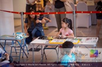 Malaysia Kota Damansara Petaling Jaya Kuala Lumpur Selangor Chinese New Year Charity Coloring Contest World Art House 世界艺术画室 and 1 Utama Shopping JinYeYe Effye Media A015