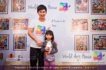 Malaysia Kota Damansara Petaling Jaya Kuala Lumpur Selangor Chinese New Year Charity Coloring Contest World Art House 世界艺术画室 and 1 Utama Shopping JinYeYe Effye Media B045
