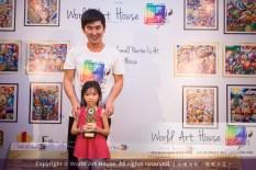 Malaysia Kota Damansara Petaling Jaya Kuala Lumpur Selangor Chinese New Year Charity Coloring Contest World Art House 世界艺术画室 and 1 Utama Shopping JinYeYe Effye Media B052