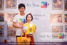 Malaysia Kota Damansara Petaling Jaya Kuala Lumpur Selangor Chinese New Year Charity Coloring Contest World Art House 世界艺术画室 and 1 Utama Shopping JinYeYe Effye Media B054