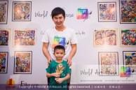 Malaysia Kota Damansara Petaling Jaya Kuala Lumpur Selangor Chinese New Year Charity Coloring Contest World Art House 世界艺术画室 and 1 Utama Shopping JinYeYe Effye Media B076