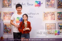 Malaysia Kota Damansara Petaling Jaya Kuala Lumpur Selangor Chinese New Year Charity Coloring Contest World Art House 世界艺术画室 and 1 Utama Shopping JinYeYe Effye Media B077