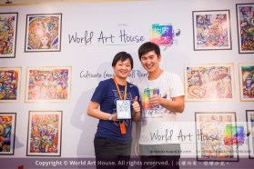Malaysia Kota Damansara Petaling Jaya Kuala Lumpur Selangor Chinese New Year Charity Coloring Contest World Art House 世界艺术画室 and 1 Utama Shopping JinYeYe Effye Media B084