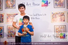 Malaysia Kota Damansara Petaling Jaya Kuala Lumpur Selangor Chinese New Year Charity Coloring Contest World Art House 世界艺术画室 and 1 Utama Shopping JinYeYe Effye Media B094
