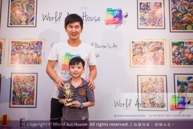Malaysia Kota Damansara Petaling Jaya Kuala Lumpur Selangor Chinese New Year Charity Coloring Contest World Art House 世界艺术画室 and 1 Utama Shopping JinYeYe Effye Media B099