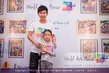 Malaysia Kota Damansara Petaling Jaya Kuala Lumpur Selangor Chinese New Year Charity Coloring Contest World Art House 世界艺术画室 and 1 Utama Shopping JinYeYe Effye Media C012