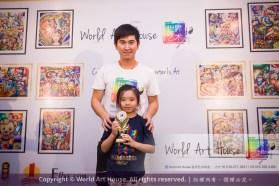 Malaysia Kota Damansara Petaling Jaya Kuala Lumpur Selangor Chinese New Year Charity Coloring Contest World Art House 世界艺术画室 and 1 Utama Shopping JinYeYe Effye Media C014